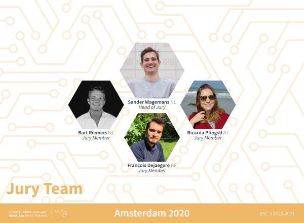 Teamannouncement Amsterdam - jury