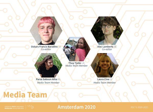 Teamannouncement Amsterdam - media