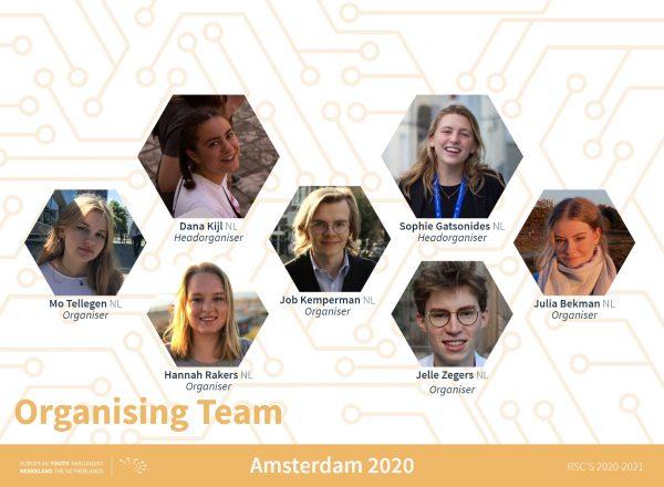 Teamannouncement Amsterdam - orga